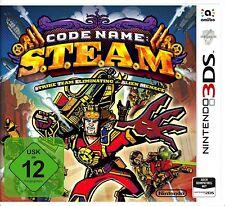 Code Name S.T.E.A.M. / STEAM Nintendo 3DS und 2DS Neu & OVP