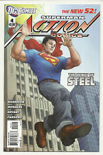 Action Comics #4 Variant Near Mint New 52 Superman