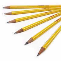 Stabilo Scholar HB School Pencils - Writing Sketching Drawing Pencils - Set of 6