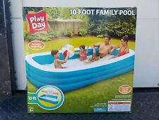 Intex 58484Ep 120in x 72in x 22in Swim Center Family Inflatable Pool
