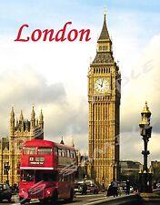 LONDON - BIG BEN - Travel Souvenir Magnet