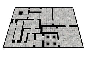 Modular Dungeon Mat - Gaming Mat dnd D&D roleplay RPG battle pathfinder Dragons