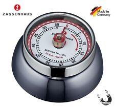 3514372-zassenhaus 72310 - Timer da cucina Speed colore Nero