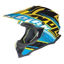 Cascos Nolan color principal azul de motocicleta para conductores