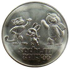 (R3) - Russland Russia - 25 Rubel Roubles 2012 Maskottchen Sochi UNC - KM# 1368