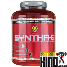 BSN SYNTHA 6 PROTEIN 2.29KG STRAWBERRY MEAL REPLACEMENT myofusion syntha6 bpi