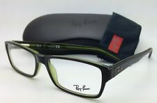 RAY-BAN Rx-able Eyeglasses/Frames HIGHSTREET RB 5169 2383 54-16 Havana on Green