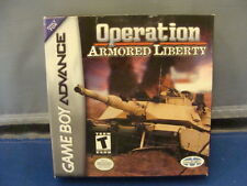 Operation Armored Liberty  BOXED NINTENDO Game Boy Advance
