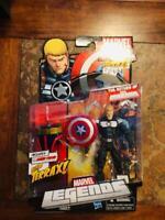 Marvel Legends Steve Rogers Shield Terrax Build A Figure Captain America