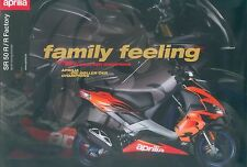 Aprilia SR 50 R +R Factory Prospekt 2004 brochure Broschüre Motorroller Katalog