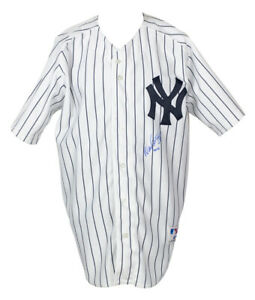 Wade Boggs Signed New York Yankees Russell Authentic Jersey Steiner