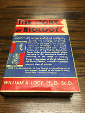 The Story of Biology by William A. Locy -- 1925 HC First Edition