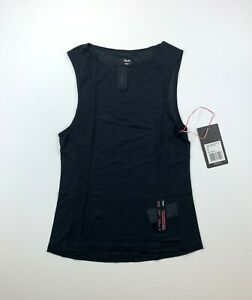 RAPHA Women's Merino Mesh Base Layer Sleeveless Black Size Small New
