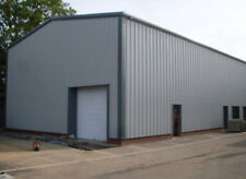 Pre-Fabricated Steel Portal Frame Building Industrial Metal Pre-Fab Storage