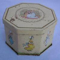 Vintage Kate Greenaway Children Collection  Tin -  Victorian Art  Craft