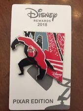 Mr Incredible Pin Pixar Incredibles Disney Parks Rewards Visa Card Exclusive