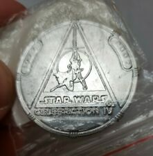 2007 Hasbro Star Wars Celebration 4 Give Away 30th Anniversary Coin in baggie