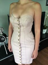 VINTAGE JEAN PAUL GAULTIER ICONIC SEXY CUPS CORSET DENIM MINI DRESS