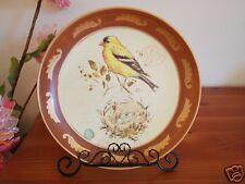 Ceramic Decoration Plate Country Bird 25cm B