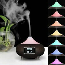 7 Color Changing LED USB Lamps Aroma Diffuser Incense Ultrasonic Air Humidifier