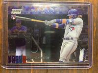 Bo Bichette 2020 Topps Stadium Club Chrome MLB Rookie Card #112 Blue Jays RC
