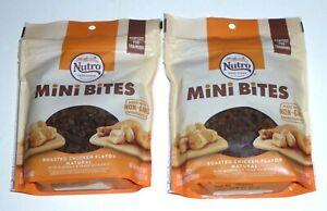 1 POUND Nutro MINI BITES Best By 09/2021 tiny training DOG treats chicken 2x8oz