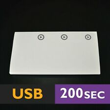 200s Stick-on 3 BUTTONS USB (scrapbook device voice module music cards sound)
