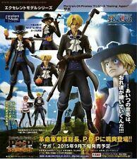 Excellent Model MegaHouse One Piece POP Sailing Again Sabo 1/8 PVC Figure