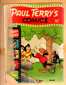 Paul Terry's Comics - Terry-Toons  #88 September 1951 -  Poor Condition