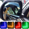 2X 12V 14SMD Arrow Panel Car Rearview Mirror LED Turn Signal Light Flashing