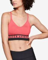 Under Armour Women's Seamless Low Impact Sports Bra, Size S, Pink/Black, NwT