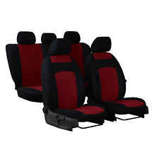 Sitzbezüge schwarz vorne PRA OPEL ASTRA G