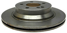 Non-Coated Disc Brake Rotor fits 2003-2009 Mercedes-Benz E350 E500 E55 AMG  ACDE