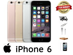 Apple iPhone 6 - 16GB/32/64GB/128GB - All Colours  - 12 MONTH WARRANTY