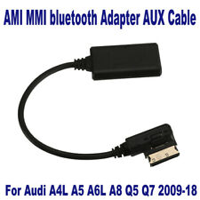 AMI MMI bluetooth Adapter Audio AUX Cable For Audi A4L A5 A6L A8 Q5 Q7 2009-2018