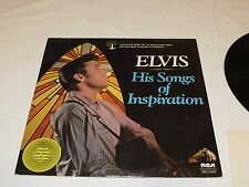Elvis Presley His Songs Of Inspiration DML1-0264 77 LP Album RARE Record vinyl