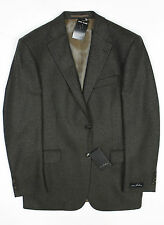 Van Kollem - Brown/Black Comfort Wool Blazer - Size 38 *NEW WITH TAGS* RRP £175