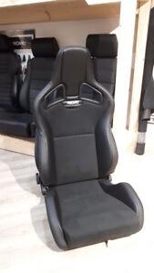 2  Recaro Sportster CS Kl Dinamica schwarz Audi Bmw für viele Fahrzeuge mit  ABE