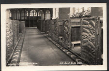 Cornwall Postcard - Altarnon Church, South Aisle - Bench Ends  RS1995