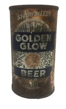 Golden glow flat top beer can