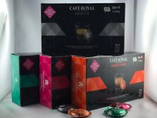 200 Stk Cafe Royal für Nespresso Pro Buisness Pads 4er Set 5,33€/100gr