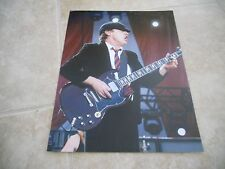 AC/DC Angus Young Live Concert Tour Guitar Color 11x14 Photo #2
