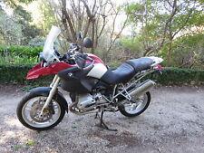 LEFT PILLION FOOT PEG BMW R1200GS 04/2006 PART OUT COMPLETE MOTORCYCLE