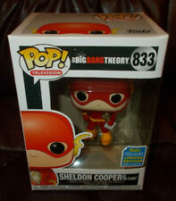 Funko Pop Sheldon Cooper The Flash 2019 SDCC Exclusive The Big Bang Theory #833