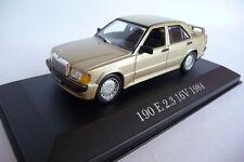 Altaya 1:43 Mercedes 190E 2.3 16V Gold 1984