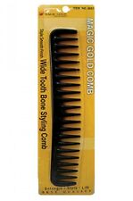 Professional Wide Tooth Bone Styling/Detangling Comb