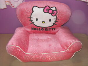 Build A Bear Hello Kitty Pink Couch Sofa Chair Plush Doll Furniture Accessory