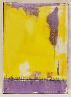 No.722 Original Abstract Modernist Minimal Painting By K.A.Davis