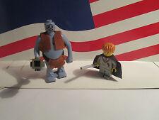 Lego Harry Potter TROLL ON THE LOOSE 2 MINIFIGURES WAND & CAPE SET 4712
