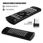 New Backlight 2.4GHz Fly Air Mouse Wireless Keyboard For Android TV BOX PC er